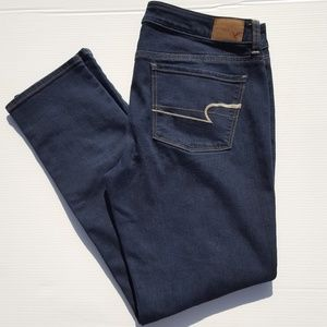 American Eagle | Skinny Jeans size 12 dark denim